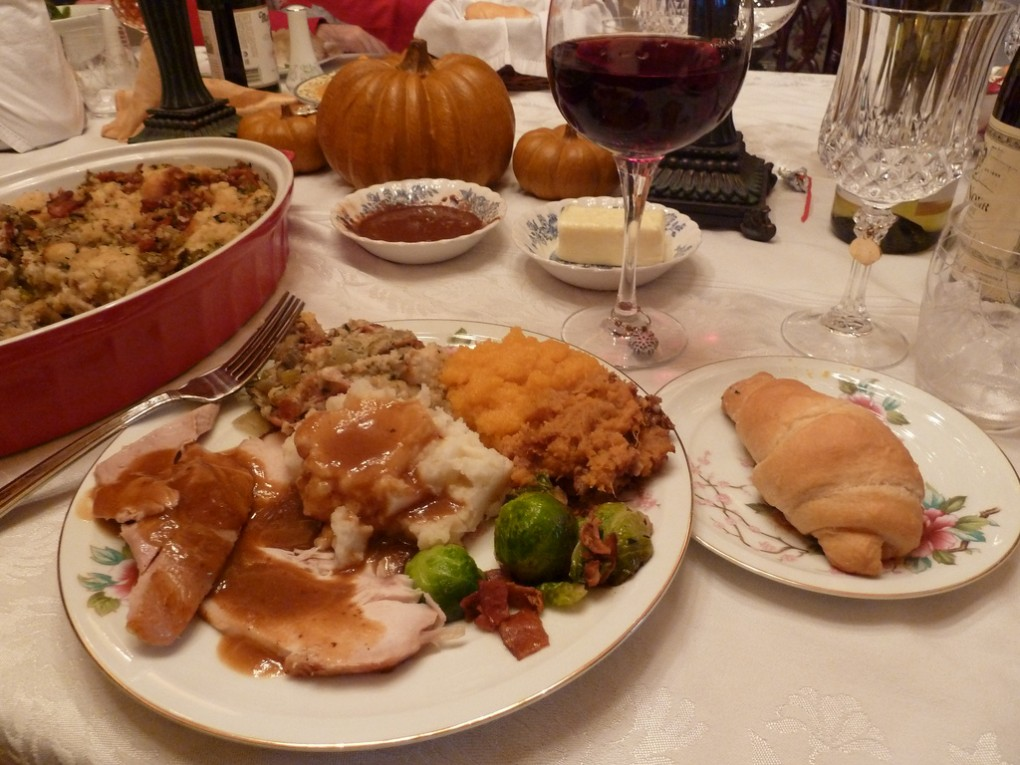 & How did that get on my Thanksgiving Day plate?